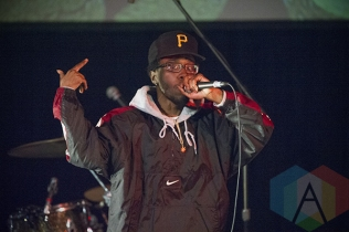 Raz Fresco performing in Toronto as part of Converse Rubber Tracks. (Photo: Julian Avram/Aesthetic Magazine Toronto)
