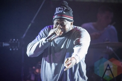 Ghostface Killah performing in Toronto as part of Converse Rubber Tracks. (Photo: Julian Avram/Aesthetic Magazine Toronto)