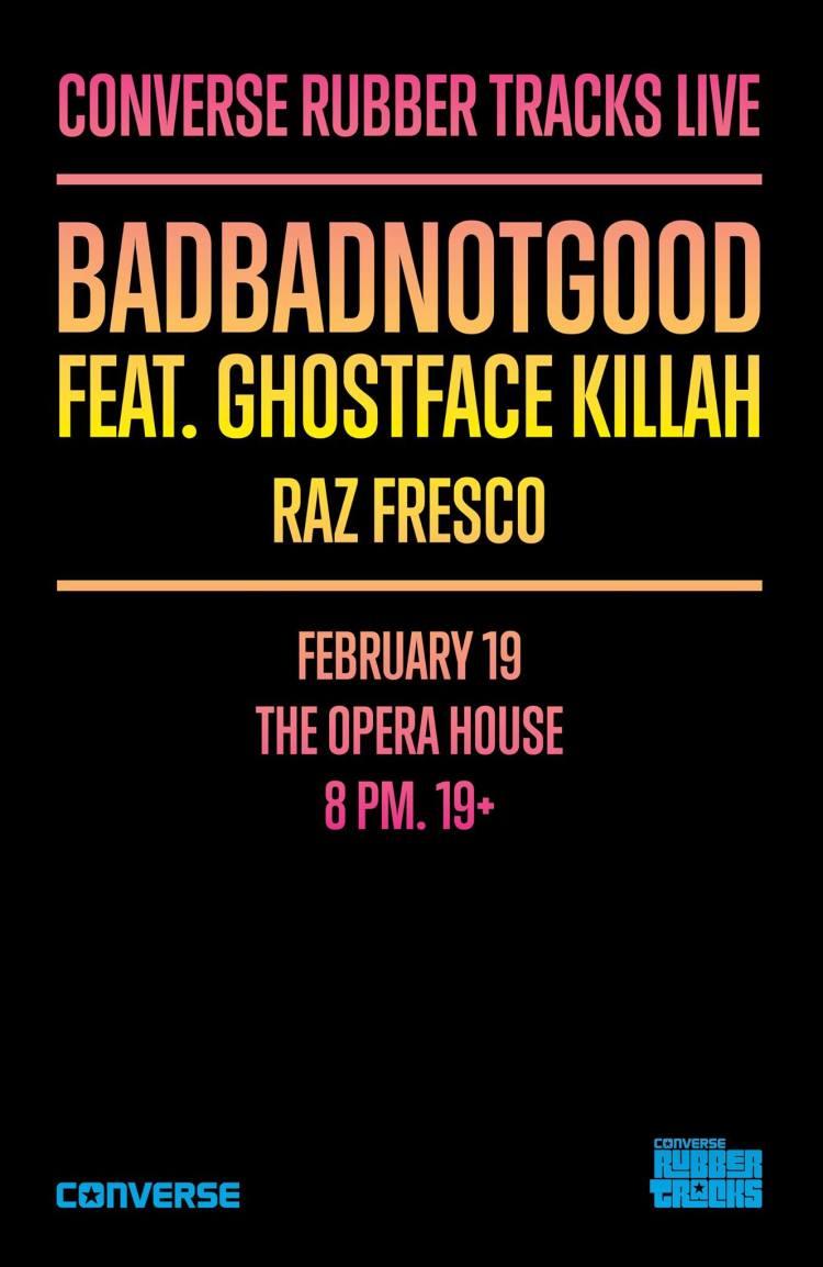 BadBadNotGood & Ghostface Killah