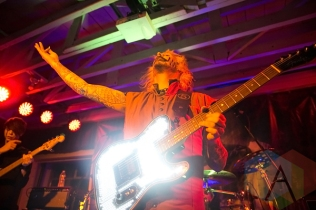 John 5 and The Creatures at the DNA Lounge in San Francisco. (Photo: Raymond Ahner/Aesthetic Magazine Toronto)