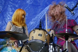 Deap Vally. (Photo: Krystyn Bristol/Aesthetic Magazine Toronto)