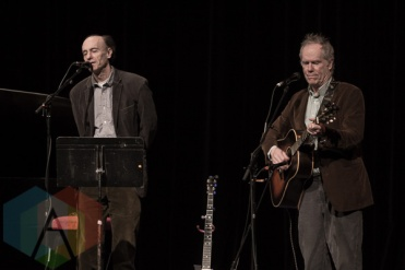 Chaim Tannenbaum (left) and Loudon Wainwright III. (Photo: Dianna Lee/Aesthetic Magazine Toronto)