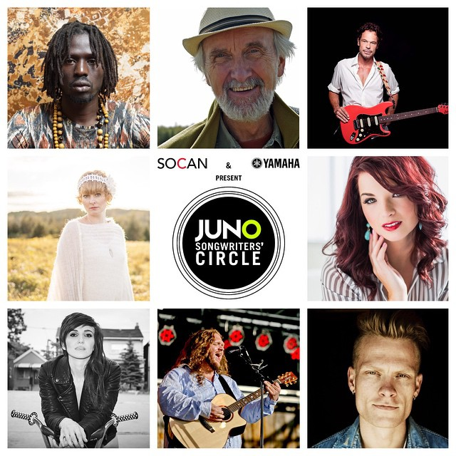 2015 JUNO Awards Songwriters' Circle