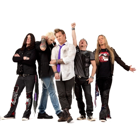 Despite Jericho's hectic WWE schedule, his side-project Fozzy (pictured) has released six albums between 2000 and 2014.
