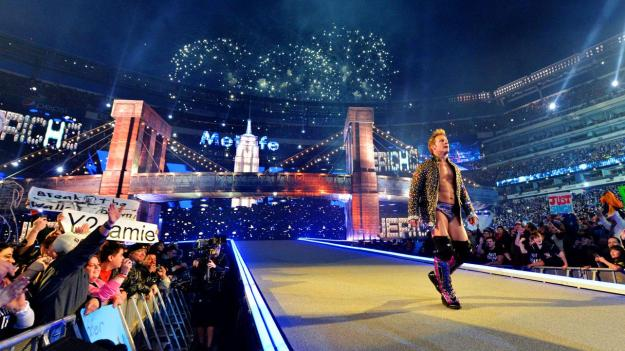 Chris Jericho at Wrestlemania 29 at MetLife Stadium in East Rutherford, New Jersey in 2013.
