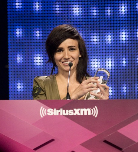 Pop Album of the Year award winner Lights at the 2015 JUNO Gala Dinner and Awards at the Hamilton Convention Centre. (Photo: CARAS)