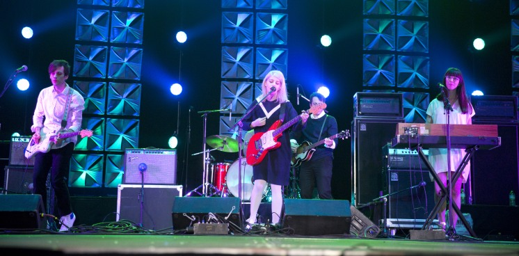 Alvvays performing at the 2015 JUNO Gala Dinner and Awards at the Hamilton Convention Centre. (Photo: CARAS)
