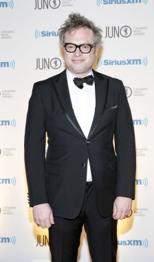 Steven Page arrives on the red carpet at the 2015 JUNO Gala Dinner and Awards at the Hamilton Convention Centre. (Photo: CARAS)
