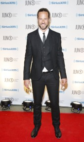 Trevor Guthrie arrives on the red carpet at the 2015 JUNO Gala Dinner and Awards at the Hamilton Convention Centre. (Photo: CARAS)