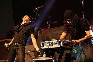 Prayers performing at Musink Festival. (Photo: Santos Velasco/Aesthetic Magazine Toronto)