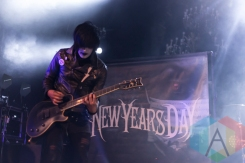 New Years Day. (Photo: Dale Benvenuto/Aesthetic Magazine Toronto)