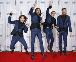 Multiple JUNO award winner Magic! backstage at 2015 JUNO Awards at FirstOntario Centre in Hamilton on March 15, 2015. (Photo: CARAS)