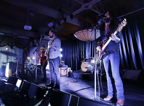 The Sheepdogs perform during Sirius XM 2015 Juno Awards Kick Off Event at Liuna Station in Hamilton, March 12, 2015. (Photo: CARAS)