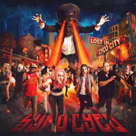 Sumo Cyco released their debut album, Lost in Cyco City, on June 10th, 2014.