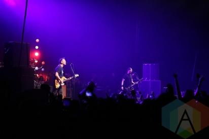 Blink 182 with Matt Skiba performing at Musink Festival. (Photo: Santos Velasco/Aesthetic Magazine Toronto)