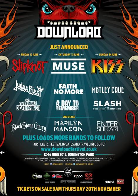 Festival Preview: 5 Must-See Bands at Download Festival 2015