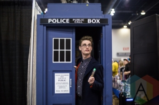 Doctor Who at Fan Expo Vancouver 2015. (Photo: Steven Shepherd/Aesthetic Magazine Toronto)