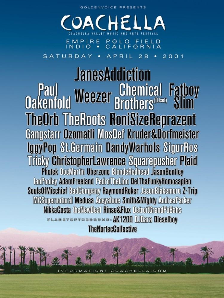 Coachella 2001