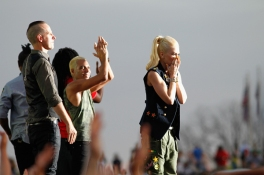 No Doubt performs onstage at the Global Citizen 2015 Earth Day at The National Mall on April 18, 2015 in Washington, DC. (Photo: Paul Morigi/Getty Images)