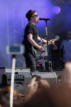 Patrick Stump of Fall Out Boy performs onstage at the Global Citizen 2015 Earth Day at The National Mall on April 18, 2015 in Washington, DC. (Photo: Paul Morigi/Getty Images)