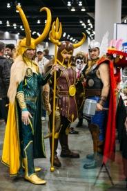 Asgardians (Thor) at Fan Expo Vancouver 2015. (Photo: Steven Shepherd/Aesthetic Magazine Toronto)