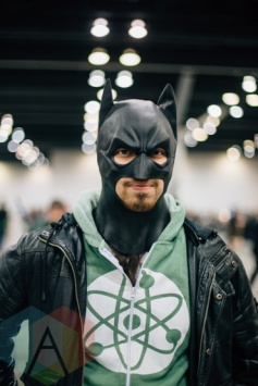 Batman at Fan Expo Vancouver 2015. (Photo: Steven Shepherd/Aesthetic Magazine Toronto)