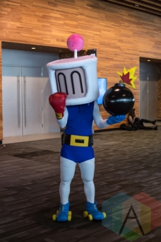 Bomberman at Fan Expo Vancouver 2015. (Photo: Steven Shepherd/Aesthetic Magazine Toronto)