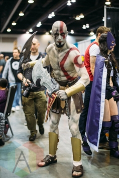 Cratos (God of War) at Fan Expo Vancouver 2015. (Photo: Steven Shepherd/Aesthetic Magazine Toronto)