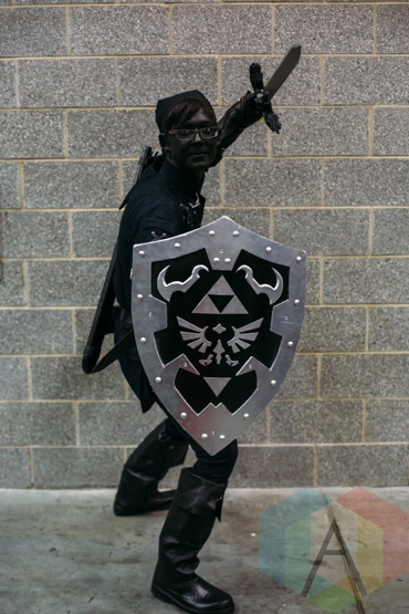 Dark Link (Legend of Zelda) at Fan Expo Vancouver 2015. (Photo: Steven Shepherd/Aesthetic Magazine Toronto)