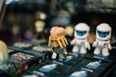 Dr. Who action figures at Fan Expo Vancouver 2015. (Photo: Steven Shepherd/Aesthetic Magazine Toronto)
