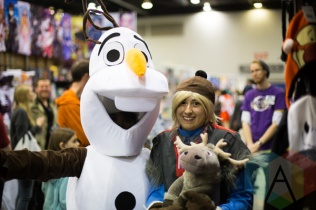 Frozen at Fan Expo Vancouver 2015. (Photo: Steven Shepherd/Aesthetic Magazine Toronto)