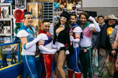 Sailor Moon at Fan Expo Vancouver 2015. (Photo: Steven Shepherd/Aesthetic Magazine Toronto)