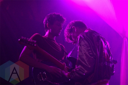 Glass Animals performing at The Glass House in Pomona, CA on April 15th, 2015. (Photo: Adam Dahir/Aesthetic Magazine Toronto)