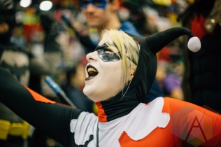 Harley Quinn (Batman) at Fan Expo Vancouver 2015. (Photo: Steven Shepherd/Aesthetic Magazine Toronto)