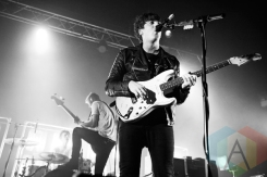 Circa Waves performing at The Ritz in Manchester, UK on April 18th, 2015. (Photo: Priti Shikotra/Aesthetic Magazine Toronto)