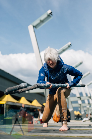 Jack Frost (Rise of the Guardians) at Fan Expo Vancouver 2015. (Photo: Steven Shepherd/Aesthetic Magazine Toronto)