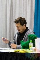 John Barrowman (Doctor Who) at Fan Expo Vancouver 2015. (Photo: Steven Shepherd/Aesthetic Magazine Toronto)