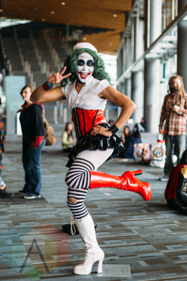 The Joker (Batman) at Fan Expo Vancouver 2015. (Photo: Steven Shepherd/Aesthetic Magazine Toronto)