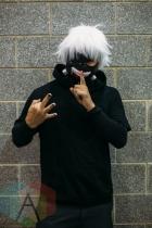 Ken Kaneki (Tokyo Ghoul) at Fan Expo Vancouver 2015. (Photo: Steven Shepherd/Aesthetic Magazine Toronto)