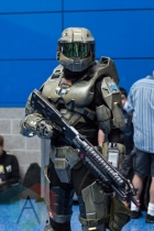 Master Chief (Halo) at Fan Expo Vancouver 2015. (Photo: Steven Shepherd/Aesthetic Magazine Toronto)