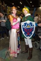 The Legend of Zelda at Fan Expo Vancouver 2015. (Photo: Steven Shepherd/Aesthetic Magazine Toronto)