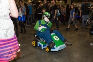Super Mario Bros. at Fan Expo Vancouver 2015. (Photo: Steven Shepherd/Aesthetic Magazine Toronto)