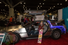 Back to the Future at Fan Expo Vancouver 2015. (Photo: Steven Shepherd/Aesthetic Magazine Toronto)