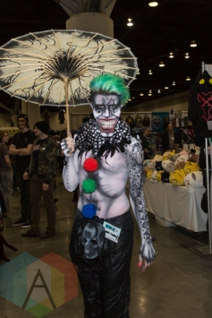 The Joker (Batman) at Fan Expo Vancouver 2015. (Photo: Steven Shepherd/Aesthetic Magazine Toronto)