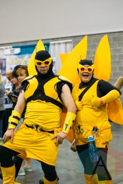 Monarch Henchmen (Venture Brothers) at Fan Expo Vancouver 2015. (Photo: Steven Shepherd/Aesthetic Magazine Toronto)
