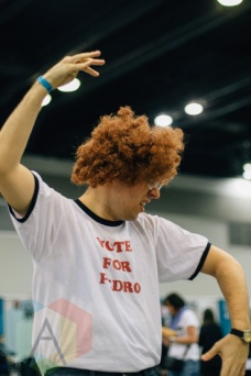 Napoleon Dynamite at Fan Expo Vancouver 2015. (Photo: Steven Shepherd/Aesthetic Magazine Toronto)