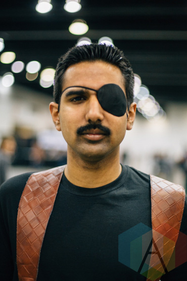 Nick Fury (The Avengers) at Fan Expo Vancouver 2015. (Photo: Steven Shepherd/Aesthetic Magazine Toronto)