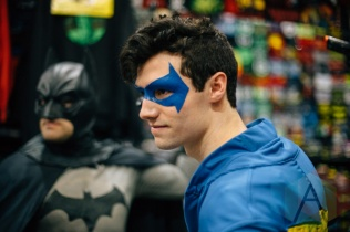 Nightwing (DC Comics) at Fan Expo Vancouver 2015. (Photo: Steven Shepherd/Aesthetic Magazine Toronto)