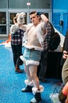Nuktuk (Legend of Korra) at Fan Expo Vancouver 2015. (Photo: Steven Shepherd/Aesthetic Magazine Toronto)