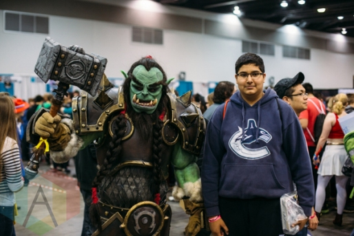 Orc (War Hammer) at Fan Expo Vancouver 2015. (Photo: Steven Shepherd/Aesthetic Magazine Toronto)